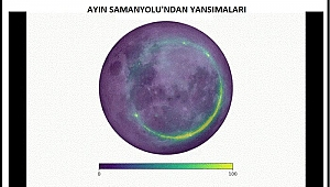 Astronomlar Ay'da Samanyolu'ndan yansıyan radyo dalgaları saptadı