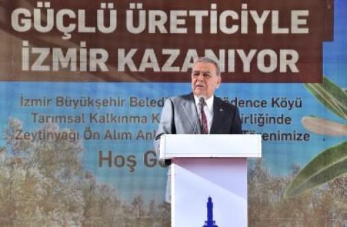 """Başkan Kocaoğlu'ndan Ankara'ya mesaj var:  """"Biz dokunduk böyle oldu, şimdi sıra Tarım Bakanlığı'nda"""""""